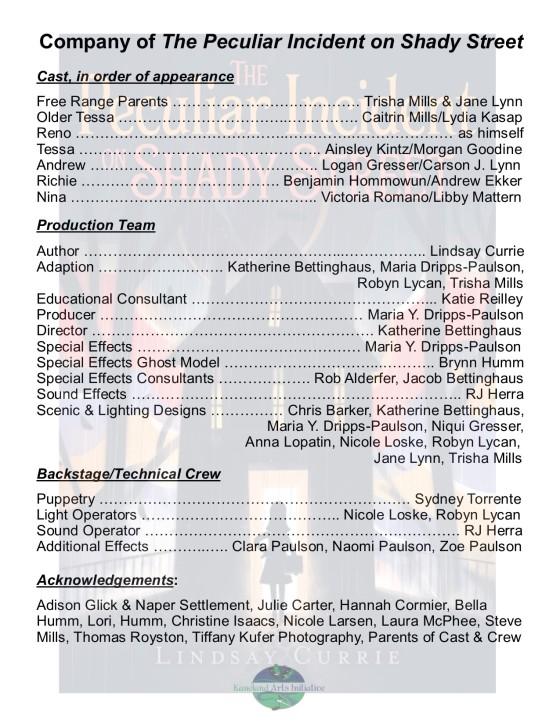 Peculiar Company List Color