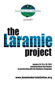 The Laramie Project Poster PNG
