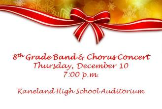 Holiday Concert 8th Grade