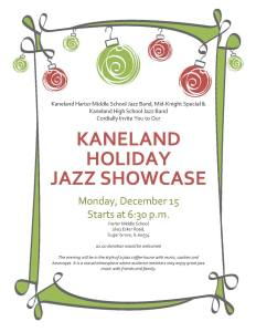 Kaneland Holiday Jazz Showcase.2014