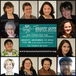 2014 Cast of SHOUT OUT! Excited about Education