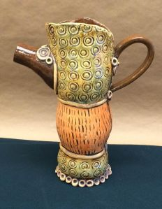 Handsome Handmade Pitcher