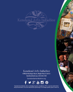 KAI Informational Brochure Back