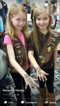 Henna pic with Stewart Students