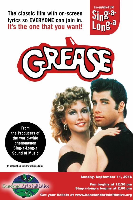 KAI Grease Poster Color Logo
