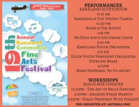 2018 KCFAF Performing Artists